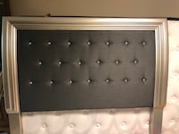 Brand new queen size mattress with Swarovski crystals headboard Vaughan, L4L 3Y3