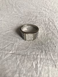 Diamond stainless steel ring  St Catharines, L2R