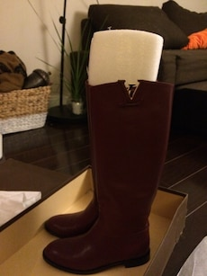 Louis Vuitton heritage high boots