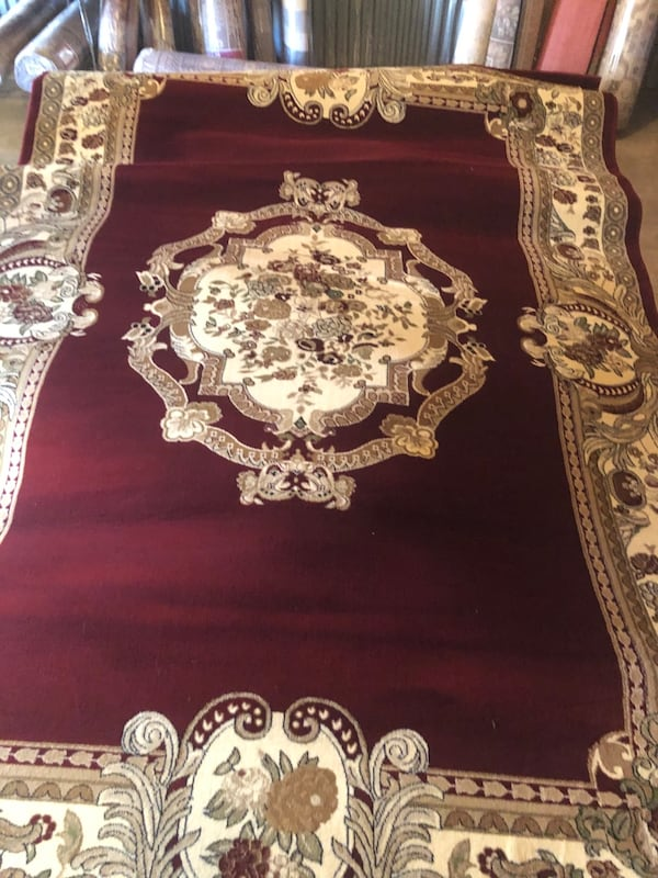 New rug size 8x11 nice red carpet Persian or Morroccan style rugs 1d04aa3e-0574-4a47-aba4-ab7cadfed24a