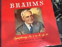 Brahm's Symphony no. 3 in F, op 9 (Victor label) Washington, 20003