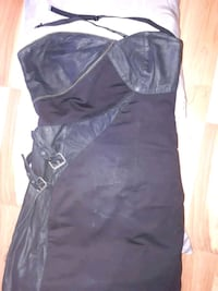 Vintage Diesel Lambskin Black Dress Steampunk Styl Halifax, B3K 1V6