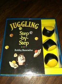 Juggling Step by step Book and Gift Set