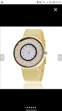 Montre jaune Fosses, 95470