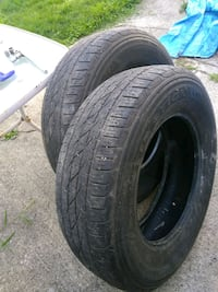 Two like new  P255/70R 18 Youngstown