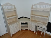 Girls Bedroom Furniture, Stanley 8 piece with sleigh bed in excellent condition. Miller Place, 11764