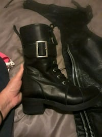 Harley boots- leather- 7.5 Rome, 30161