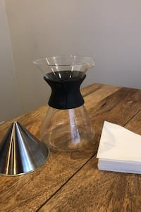 6-Cup Glass Pour Over Coffee Set Chicago, 60625