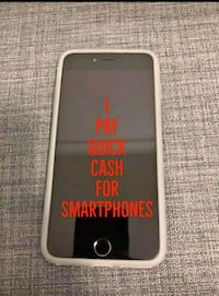space gray iPhone 6 with white case Maurertown, 22644