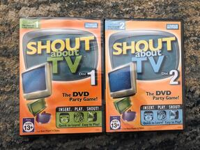 Shout game on DVD