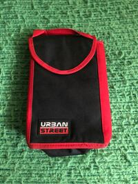 Black and red lunch bag in excellent condition .new