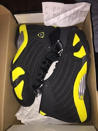 pair of black-and-yellow Nike sneakers Wilmington, 19801