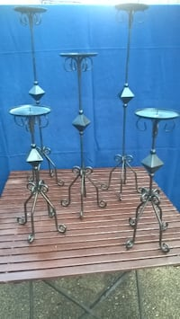 stainless steel candle holders Copperopolis