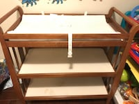 Brown wooden 3-layer changing table Surrey, V4N 3W2