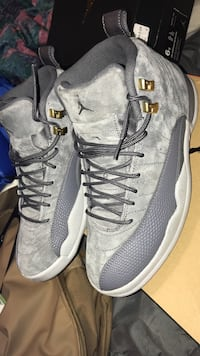 pair of gray Air Jordan 12's North Charleston, 29406