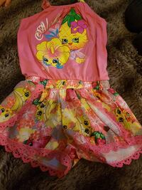 pink, yellow, and green Shopkins romper Winnipeg, R3E