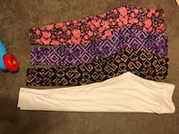 black, white, and pink floral pants Vail, 85641
