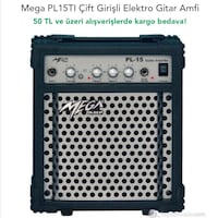 Mega Tone Pl 15 amplifier...
