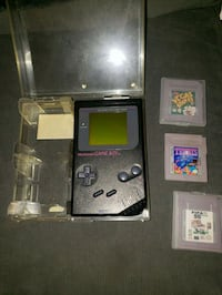black Nintendo Game Boy Advance SP with game cartridges Lee's Summit, 64086