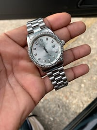 Silver Men's Watch *Read Description* New Orleans