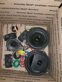 black and gray car subwoofer Las Vegas, 89115