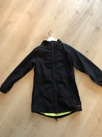 Svart zip-up jakke Olsvik, 5183