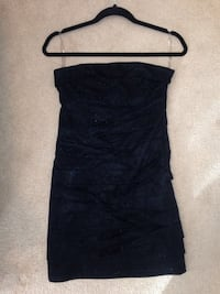 Dynamite Black Strapless Mini Dress - Women's Small Edmonton