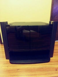 Sony black wooden TV stand with cabinet Gladstone, 97027
