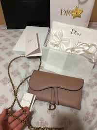 Dior wallet on chain Vancouver, V5W 3K9