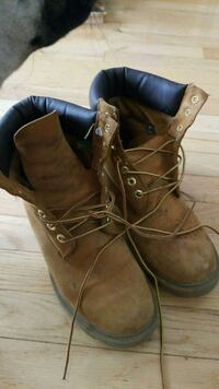 brown leather timberland work boots Edmonton, T6J 4R3