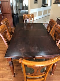 Cherry wood kitchen table Chantilly, 20152