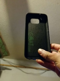 black smartphone case