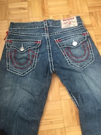 True religion jeans size 32