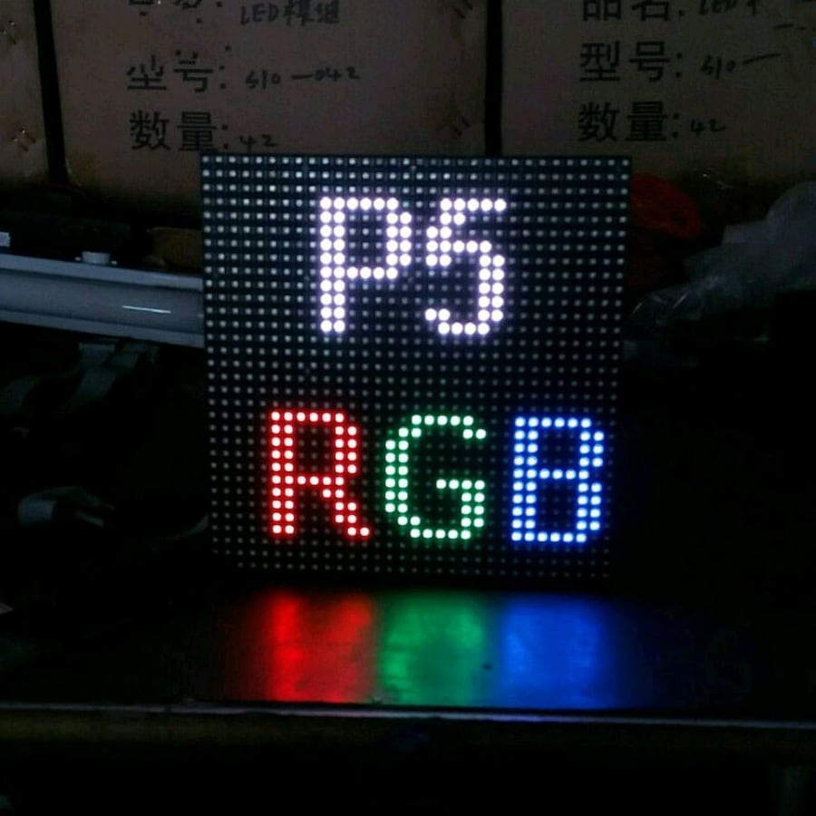 Led panel p5 rgb (iç dış mekan)