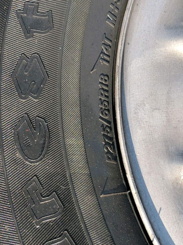 Used 275 65 18 Firestone Destination At And Rims For Sale In Port St