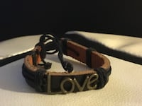 New Retro Jewelry Genuine Wrap Leather Handmade Cuff Bracelet Bangle Wristband Vintage  Los Angeles, 91343