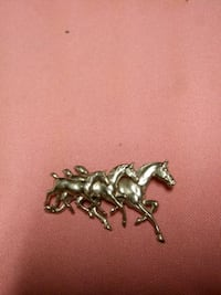 pewter horse pin
