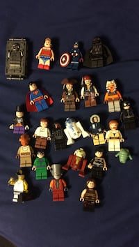 LEGO MINIFIGS (RARE ASSORTED) Sterling, 20165