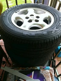 4 RIMS AND TIRES SIZE 16 Miami, 33144