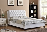 Brand new in box queen faux leather bed Mississauga