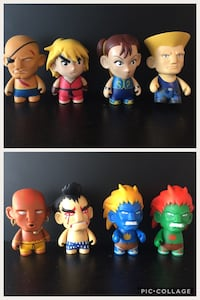 Street Fighter KidRobot lot  3743 km