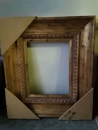 Brown wooden photo frame Clifton