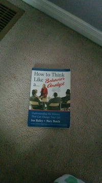 Thinking like a Behavioural Analysis Book Oakville, L6L 6H9