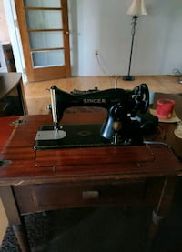 Antique Singer sewing machine Falling Waters, 25419