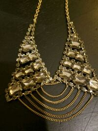 gold and diamond studded necklace Columbus, 31904
