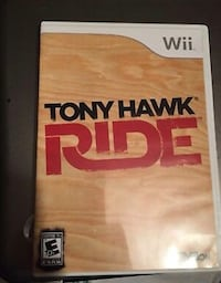 Wii Tony Hawk Ride - special edition red skateboard  Beaconsfield