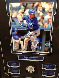 Signed and Framed Josh Donaldson Photo Edmonton, T5J 1E8