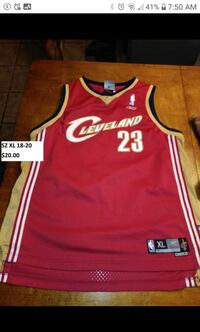 Cleveland Cavaliers James youth SZ XL jersey Upper Tantallon, B3Z 1L3