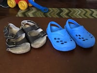 toddler's two pairs of shoes Barstow, 92311