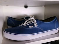 blue and white Vans low-top sneaker size 15 Los Angeles, 90029